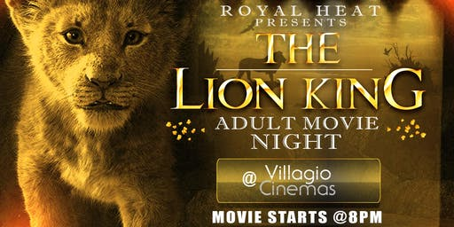 "Lion King ""Adult Movie Night"""