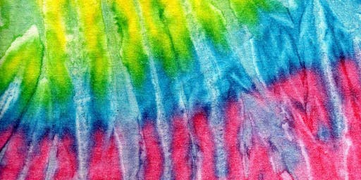Tie Dye Activity at the Farmers Market