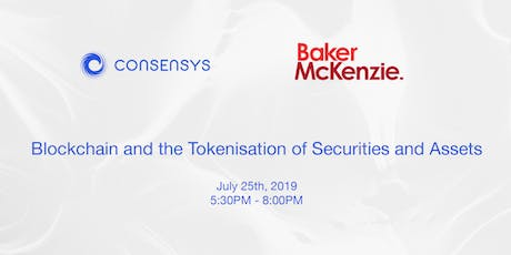 Blockchain and the Tokenisation of Securities and Assets tickets