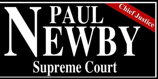 Justice Paul Newby For Supreme Court Fundraising Event
