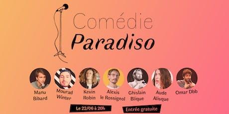 Comédie Paradiso #16 billets