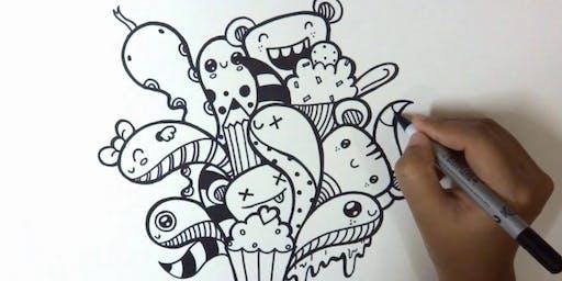 The Art of Crafting - Doodling, Daily/Bullet Journaling, & Urban Sketching