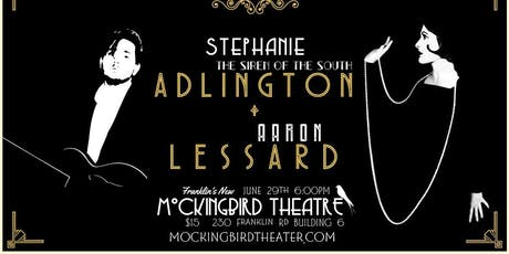Stephanie Adlington & Aaron Lessard at Mockingbird Theater tickets