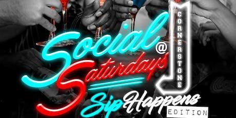 Social Saturday's @ Cornerstone Cigar Bar tickets
