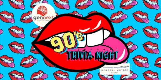 gennext 90s Trivia Night (19+ Event)