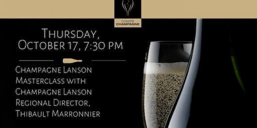 DC -- Champagne Lanson Masterclass