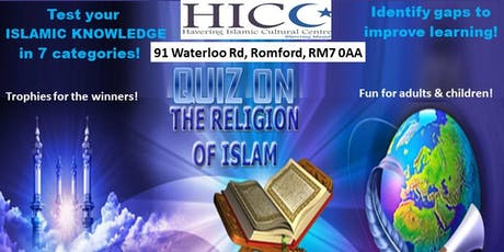 Fun Islamic Quiz & Qualification! tickets