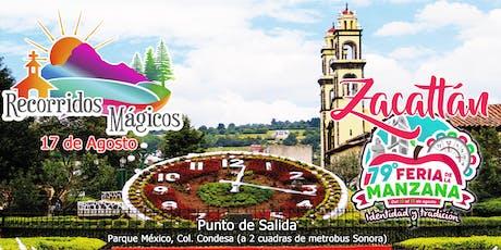 Feria de la Manzana en Zacatlán entradas