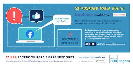 Facebook para Emprendedores tickets