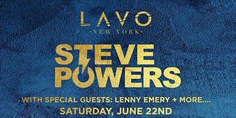 Steve Powers tickets