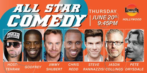 Chris Redd, Godfrey, and more - All-Star Comedy!