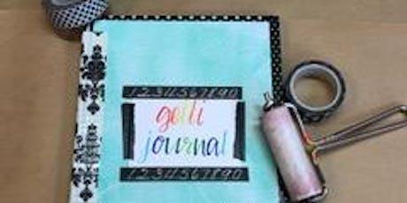 Gelli Journals- Print to Project tickets