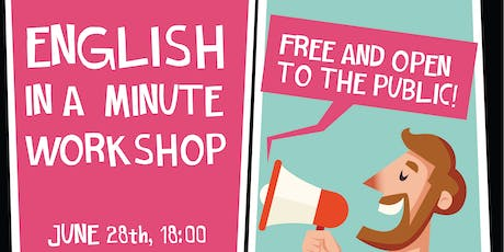 Workshop English in a Minute tickets