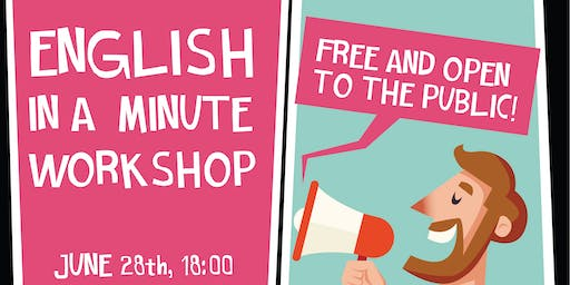 Workshop English in a Minute