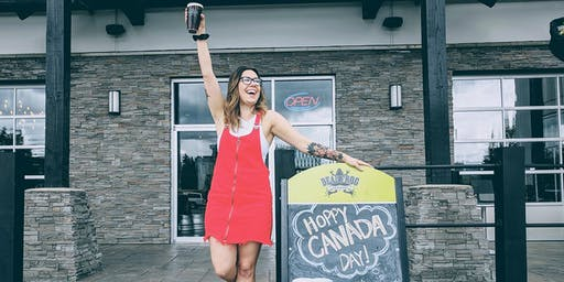 Canada Day at Dead Frog Brewery
