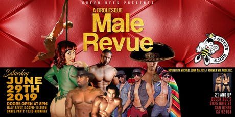 a Brolesque Male Revue tickets