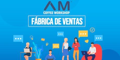 """Coffee Workshop """"Fábrica de Ventas"""" entradas"""