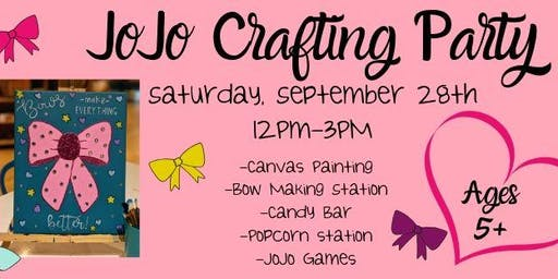 JoJo Crafting Party!