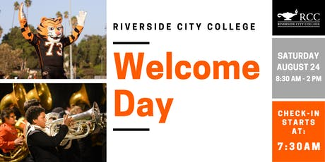 Welcome Day 2019  at Riverside City College tickets