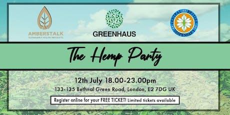 Hemp Party by Amberstalk x Greenhaus x Central British Dispensary tickets