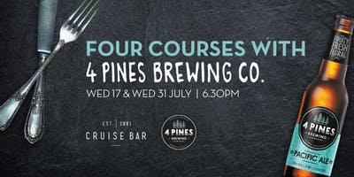 4 Courses with 4 Pines