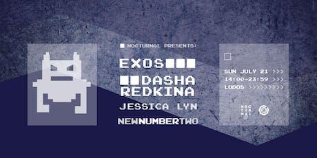 Planet X: Rooftop Session w/ Exos + Dasha Redkina tickets