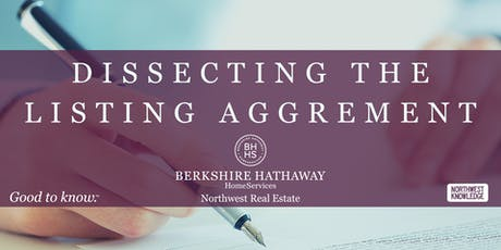 Dissecting the Listing Agreement tickets