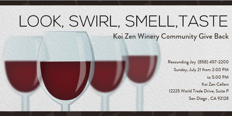 Koi Zen Cellars Craft Winery Give Back tickets