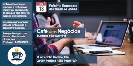 Café com Negócios - 1° lote ingressos