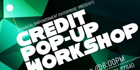 Credit Pop-Up Workshop tickets