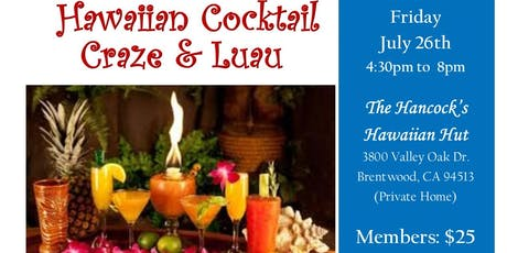 Hawaiian Cocktail Craze & Luau tickets