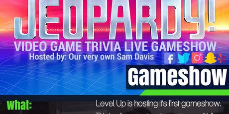 Live Jeopardy Style Game Show Event tickets