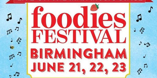 Foodies Festival Birmingjham - Jessica Lee Morgan
