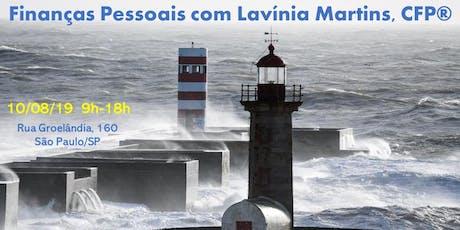 Finanças Pessoais com Lavínia Martins, CFP® ingressos