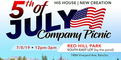 5th Of July Co. Picnic - by HHNC tickets