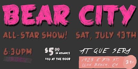 Bear City Comedy: All-Star Show! tickets