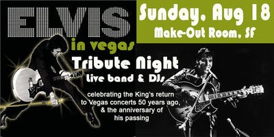 Elvis in Vegas Tribute 2019 general admission ticket