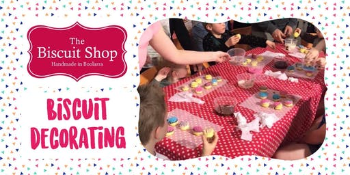 KIDS Biscuit Decorating with The Biscuit Shop