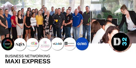 District32 Maxi Express Business Networking Perth - Wed 10th July tickets