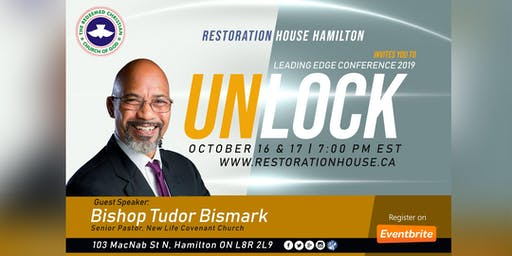Leading Edge Conference 2019: UNLOCK - Bishop Tudor Bismark