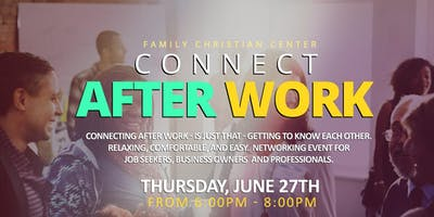 FCC - Job Connection – T2G – Connecting After Work - Thurs - 6:00 - 8:00pm - Job Seekers