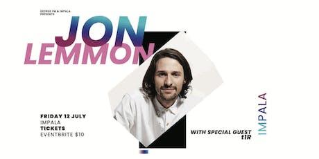 Jon Lemmon | Auckland tickets