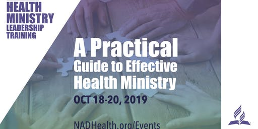 A Practical Guide to Effective Health Ministry Training