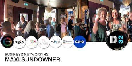 District32 Business Networking Maxi Sundowner - Fri 19th July tickets