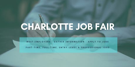Charlotte Job Fair - July 9, 2019 Job Fairs & Hiring Events in Charlotte NC tickets