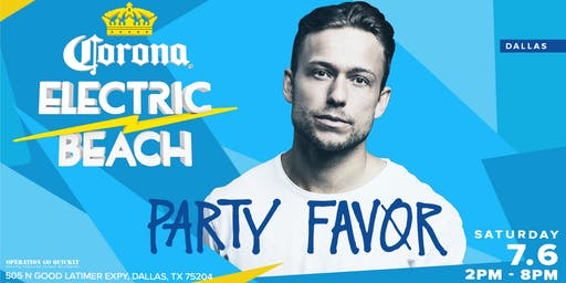 Corona Electric Beach w/ Party Favor (Dallas)