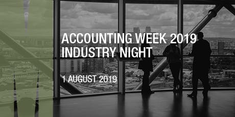 Accounting Week 2019 Industry Night tickets