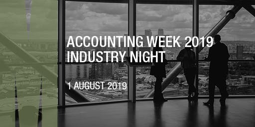 Accounting Week 2019 Industry Night