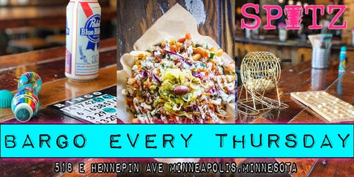 Bargo Every Thursday at Spitz - Minneapolis!