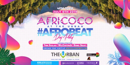 Africoco at The Urban #Afrobeat Day Party